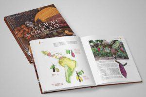 Édition du beau livre Du cacao au chocolat pour les éditions Quae